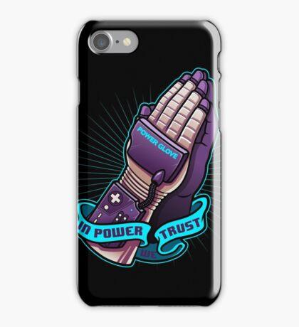 IN POWER WE TRUST iPhone Case/Skin