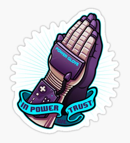 IN POWER WE TRUST Sticker