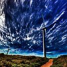 Wind power by Larrikin  Photography