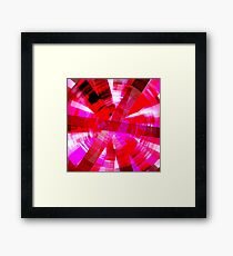 Pink Addict Framed Print