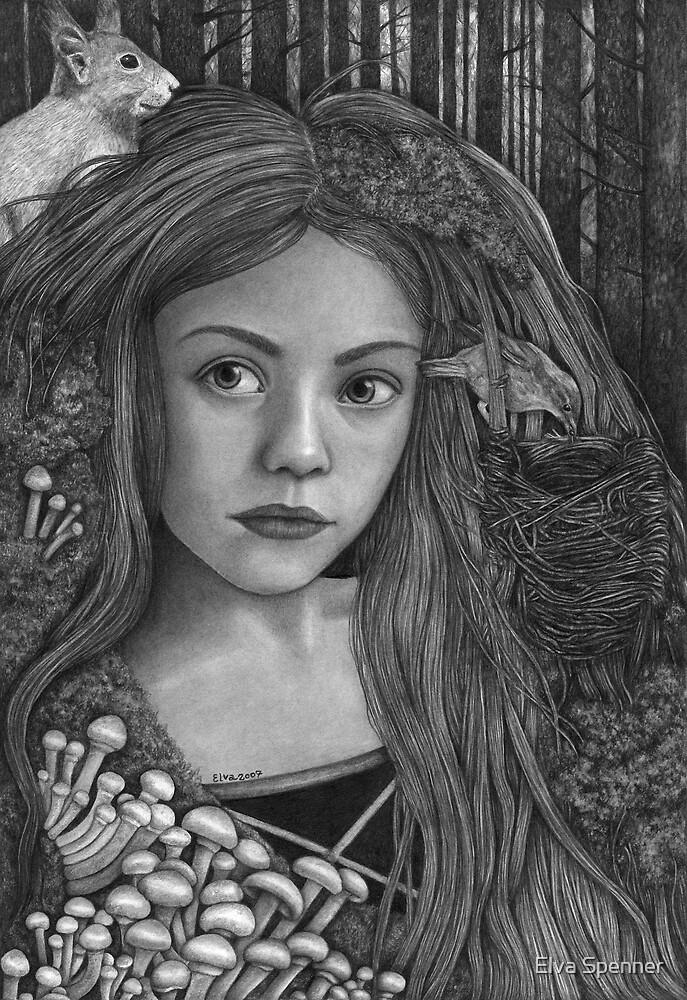 I skoven hun var by Elva Spenner