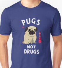 Pugs not Drugs funny Unisex T-Shirt