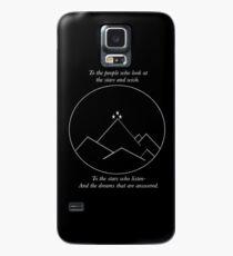 Funda/vinilo para Samsung Galaxy A las estrellas que escuchan