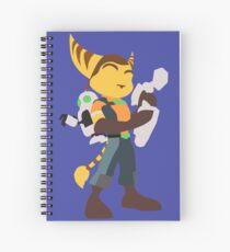 Ratchet & Clank Spiral Notebook