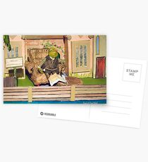 Wind in the Willows - Toad of Toad Hall Postcards