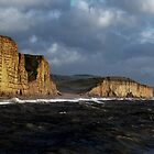 Cliffs at West Bay, Dorset by Photography  by Mathilde