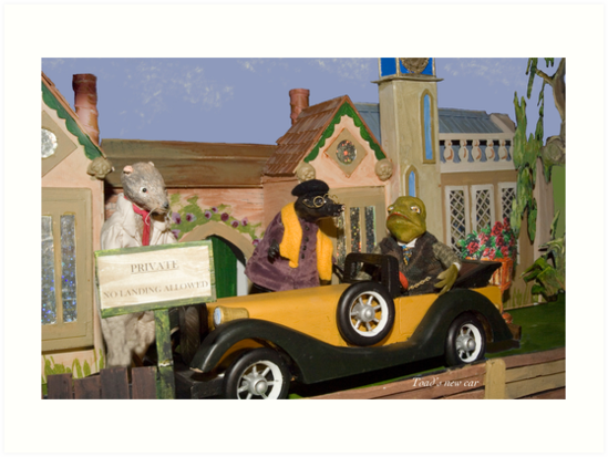 Wind in the Willows - Toad's New Car by MicksPhotoArt
