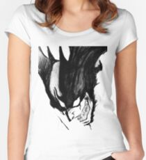 Devilman Crybaby Women's Fitted Scoop T-Shirt