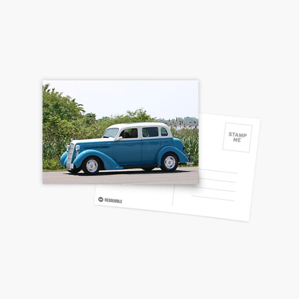 1935 Plymouth Postcard