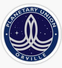 The Orville logos Sticker