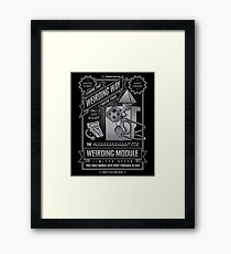 Weirding... Framed Print