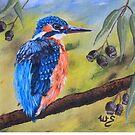 Pretty in Blue by Wendy Sinclair