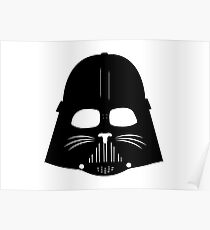 Cat Vader Poster