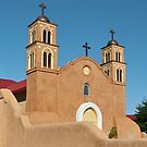 Socorro, New Mexico Church by Thomas Barker-Detwiler