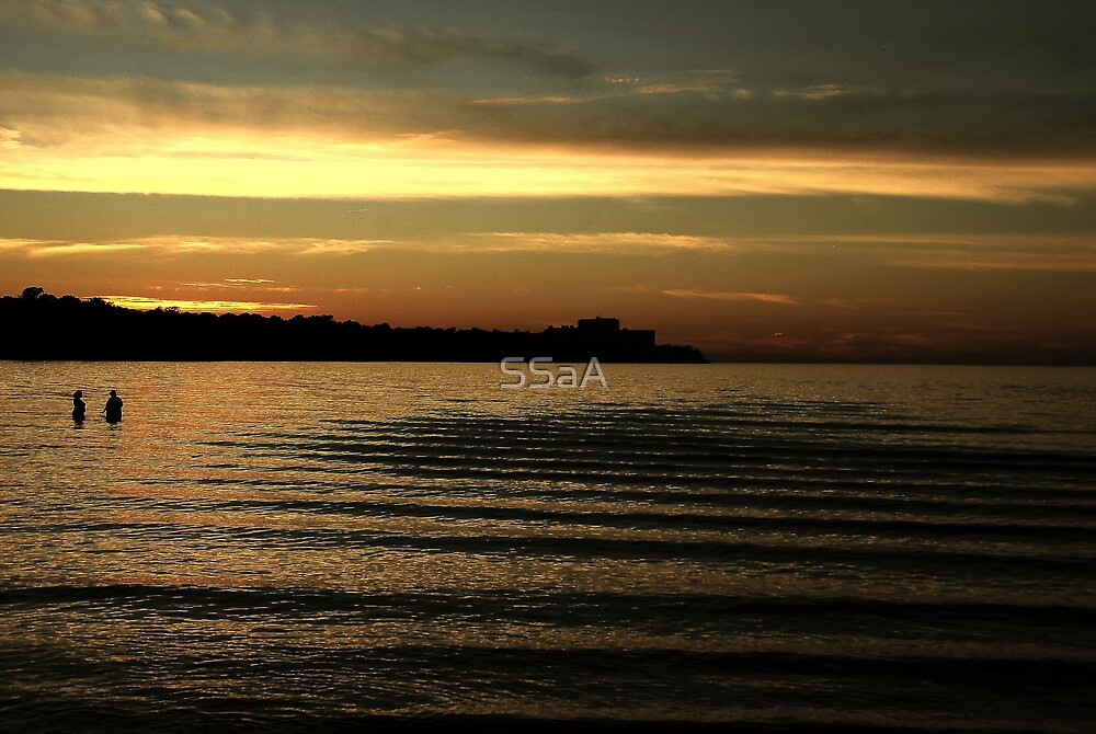 Lake Erie Sunset by SSaA