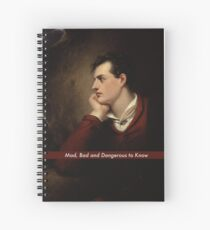 Lord Byron Spiral Notebook