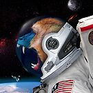Astronaut Monkey by Felipe Navega