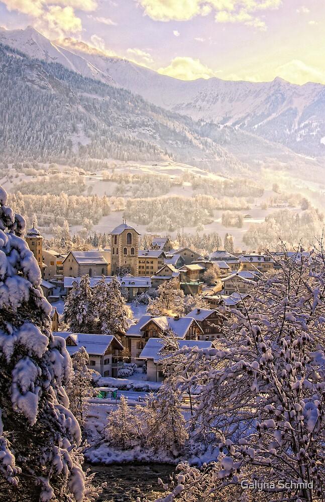 Switzerland, Ilanz by Galyna Schmid