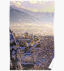 Switzerland, Ilanz Poster