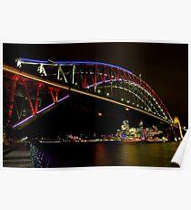 Vivid Sydney Harbour Bridge - Vivid Festival Poster