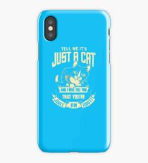 BESTSELLER WJ53 Tell Me It's Just A Cat Best Trending iPhone Case/Skin