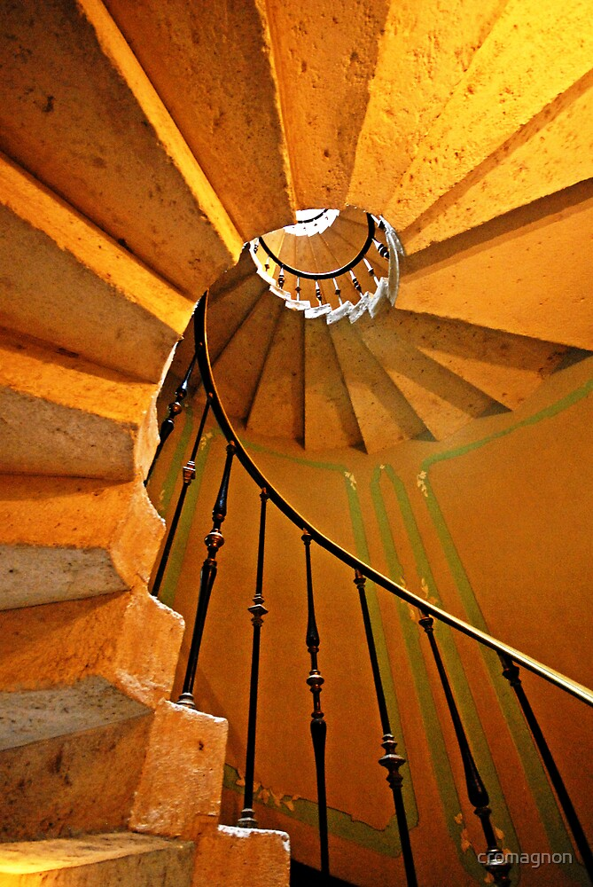 Spiral Stairs by cromagnon
