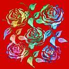 Roses Pattern ZZ by Vitta