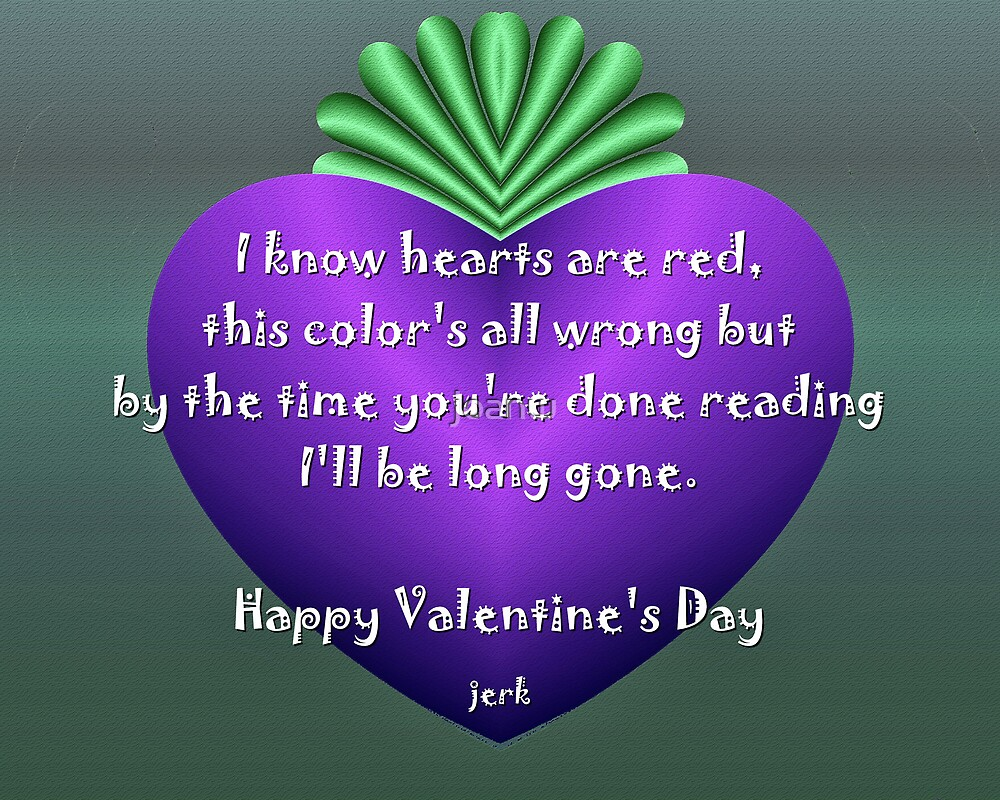 Long Gone Valentine by joanw