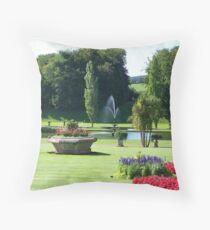 Breathtaking Bicton Throw Pillow