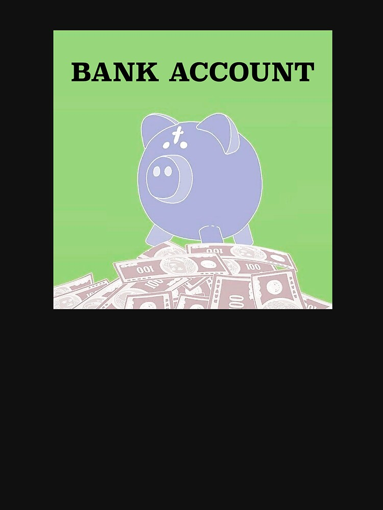 Bank Account Artwork by starf0xx