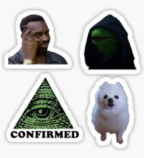 Meme Sticker Bundle  Sticker