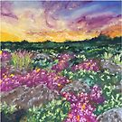 Fields of Mauve by Wendy Sinclair