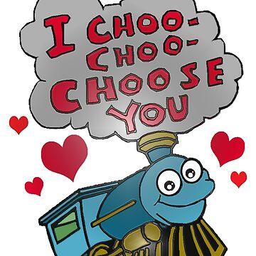 I choo choo choose you by RM-Wilde