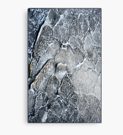 Ice layers Metal Print