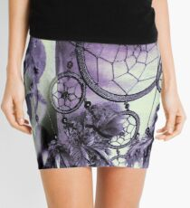 Feathered Dreams Mini Skirt