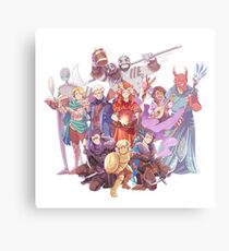 Vox Machina Metal Print