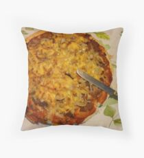 Cheese Pizza Throw Pillow