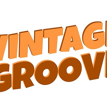 Vintage Font Cool Brown Retro Hipster Simple Text Design by MrAnthony88