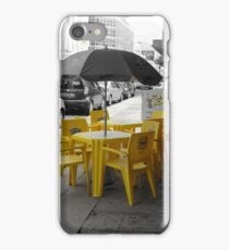 yellow chairs  iPhone Case/Skin