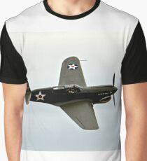 Flying Tiger Airplane P-40 Warhawk Graphic T-Shirt