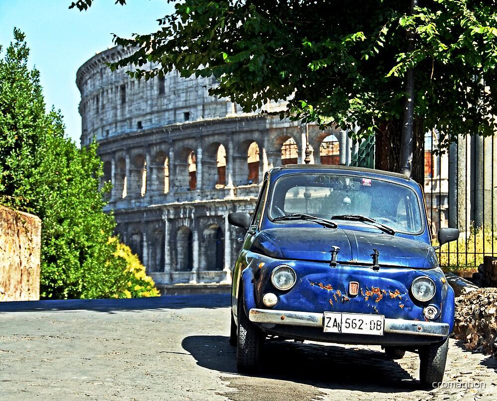 Fiat 500 at the Coliseum by cromagnon