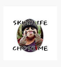 Skux Life  Photographic Print