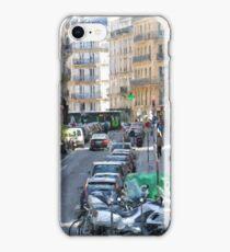 Typical Paris street view iPhone Case/Skin