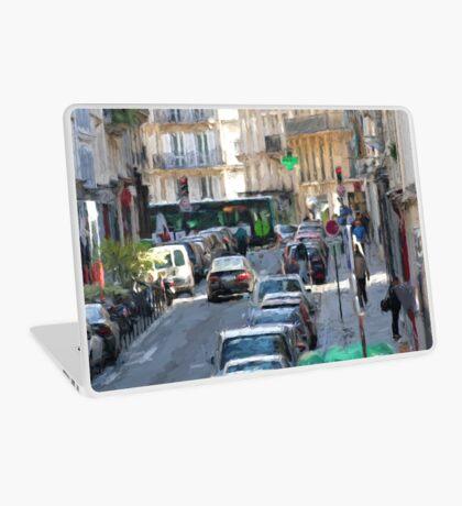 Typical Paris street view Laptop Skin