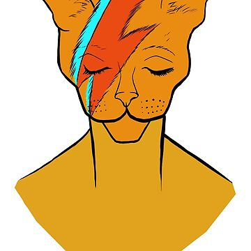 David Bowie Cat by Kite4