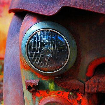 rusty headlight by ruben
