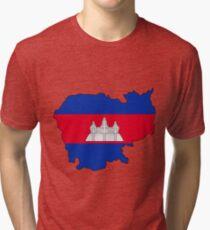 Cambodia  Tri-blend T-Shirt