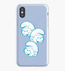 smurfs iPhone Case/Skin