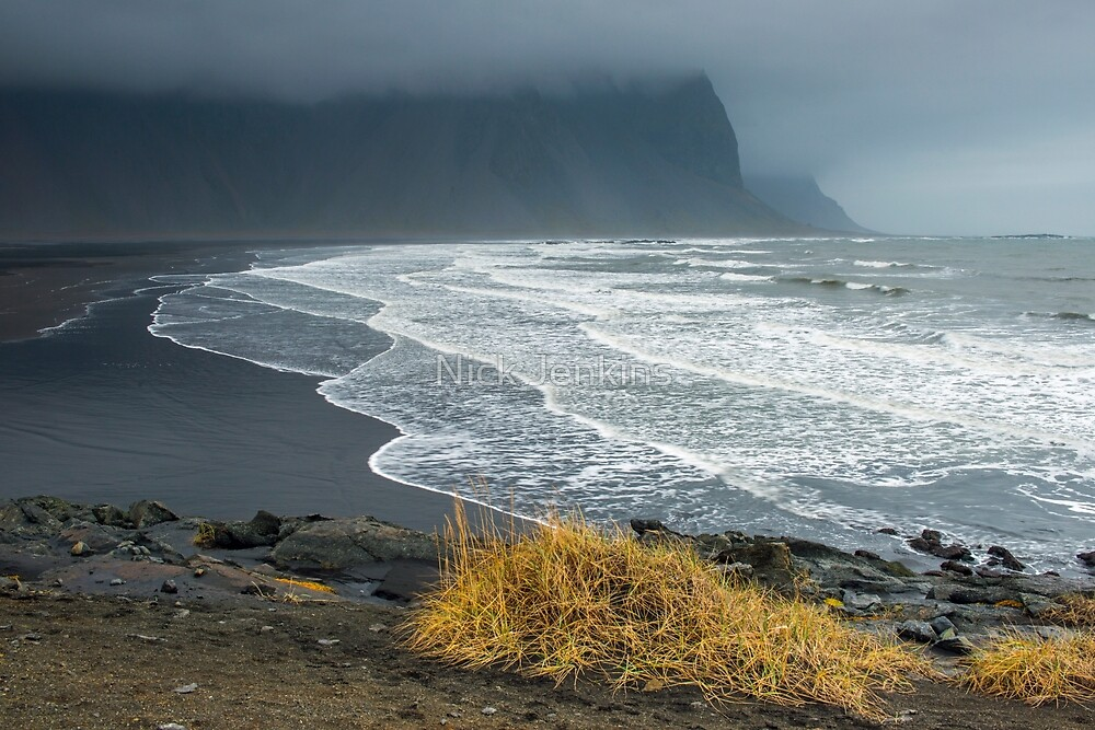Deserted Beach Iceland by Nick Jenkins