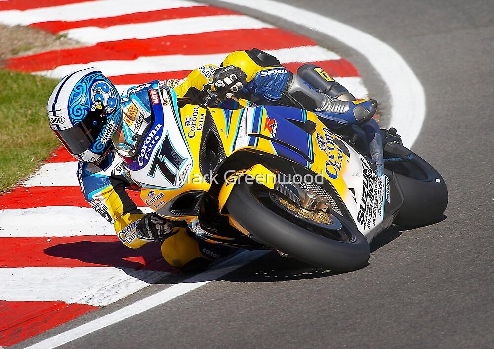 Suzuki World Superbike rider Yukio Kagayama by Mark Greenwood